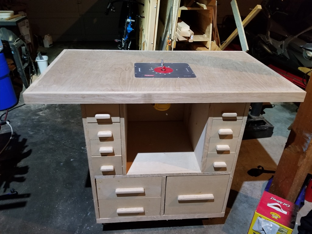 woodworking ultimate router table | from the brain of herrick